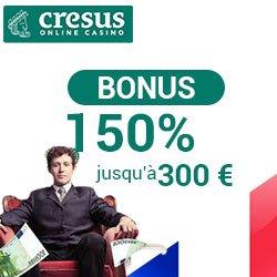 Offres et promotions du casino en ligne Cresus