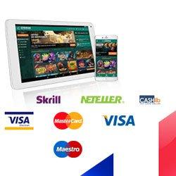 Paiement et Assistance sur Cresus Casino